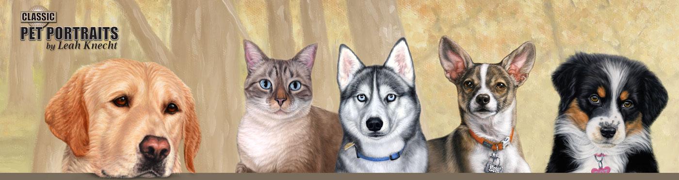 Classic Pet Portraits