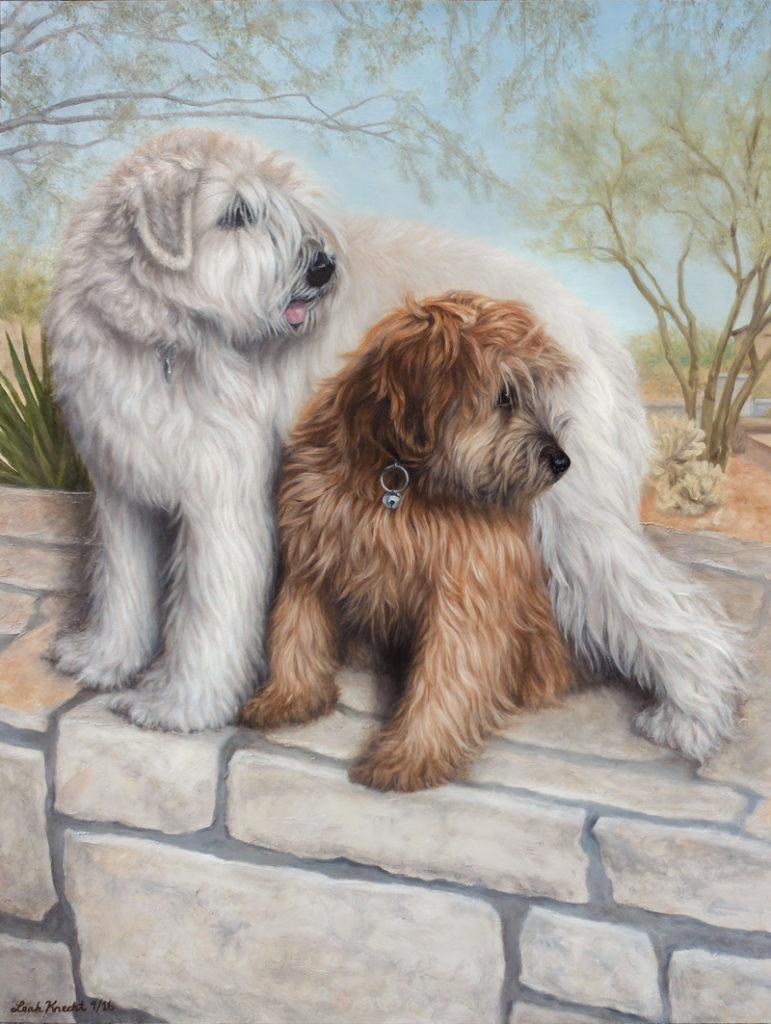 wheaten-terriers-oil-on-panel-18x24